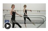 The Degage Step in Ballet Dancing