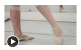 How to Do a Frappe Ballet Position
