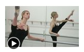 How to Do a Grande Battement Ballet Position