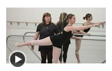 How to Do the Arabesque in Ballet Dancing